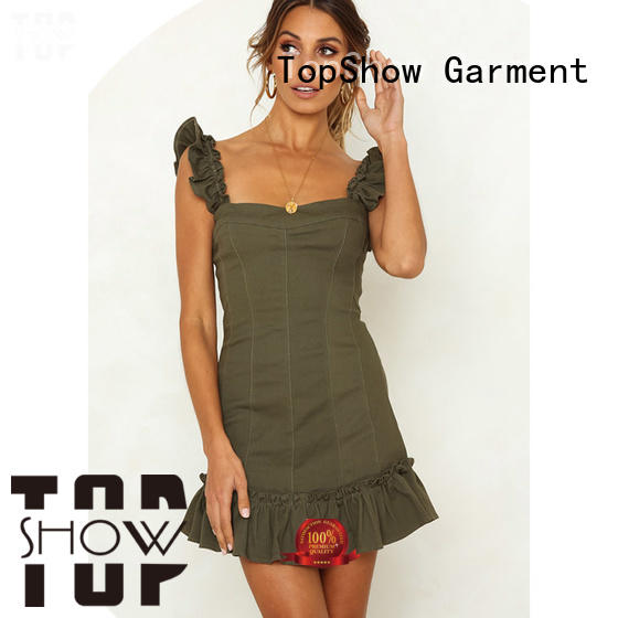 TopShow pink and red dress buy now for shopping