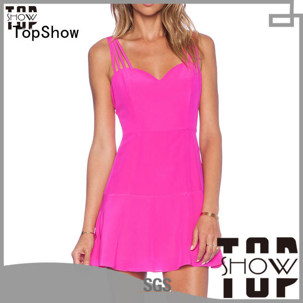 short strappy dress for girls TopShow