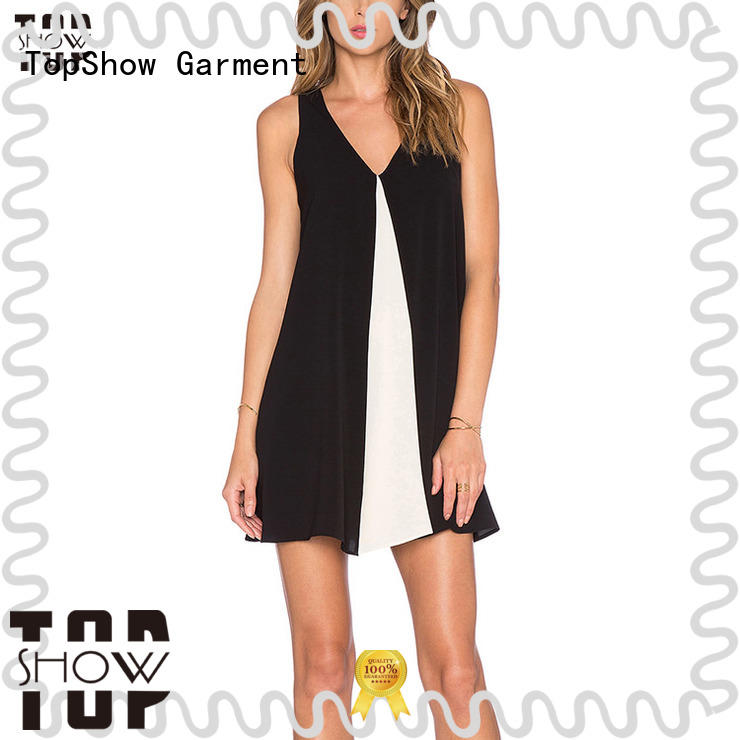 TopShow short mini dresses manufacturer for business trip