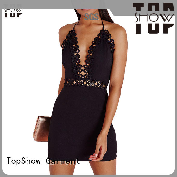 TopShow attractive short mini dresses supply factory price