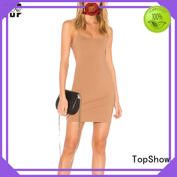 womens halter dress chinese factory price TopShow