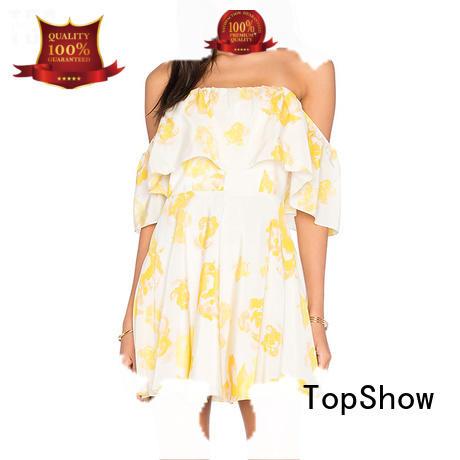 high-quality v neck halter dress long-term-use for cosmetics TopShow