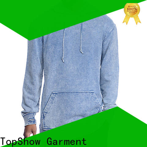 TopShow fashion unique mens hoodies manufacturers with good price