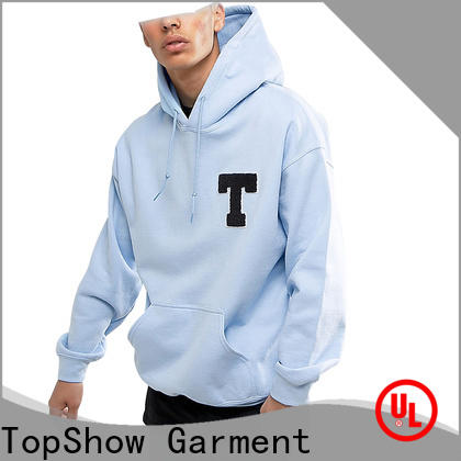 TopShow Custom nice hoodies for men for business for party