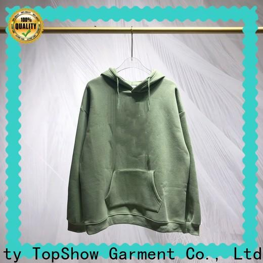 TopShow High-quality male hoodies manufacturers with many colors