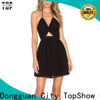 TopShow backless mini dress free quote from China