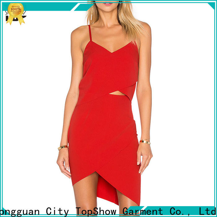TopShow backless mini dress widely-use with good price