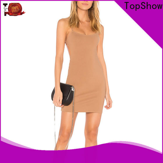 TopShow Oem quality cheap black dresses factory price for girls