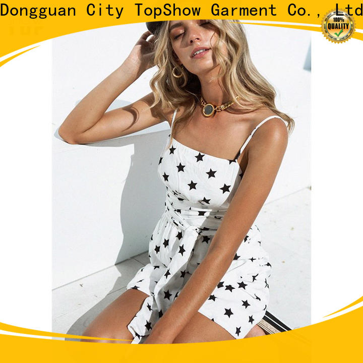 TopShow backless mini dress buy now daily wear