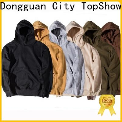 TopShow stylish hoodies for men company for business trip
