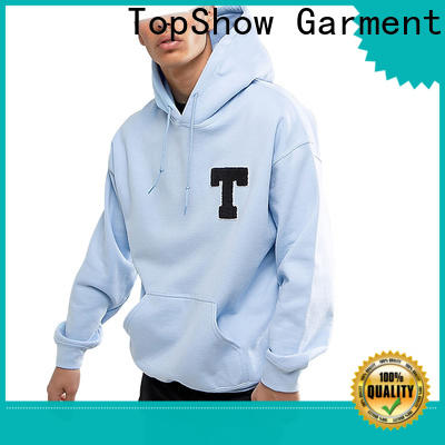 TopShow guys hoodies manufacturer for business trip