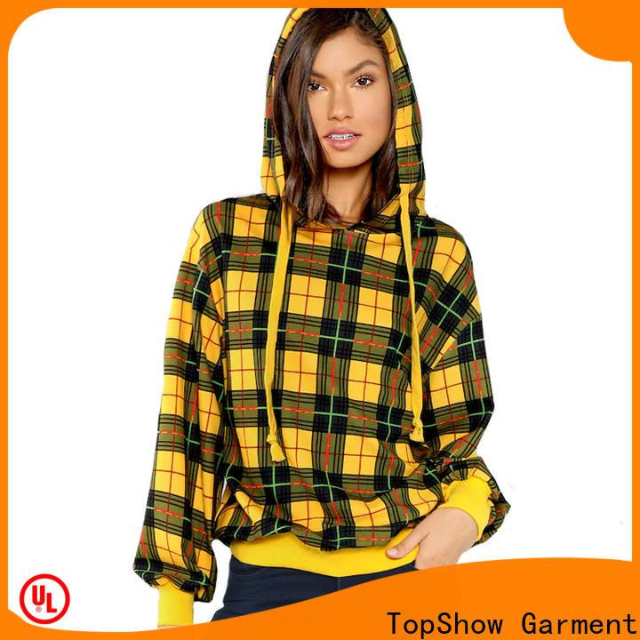 Latest ladies hoodies company street wear
