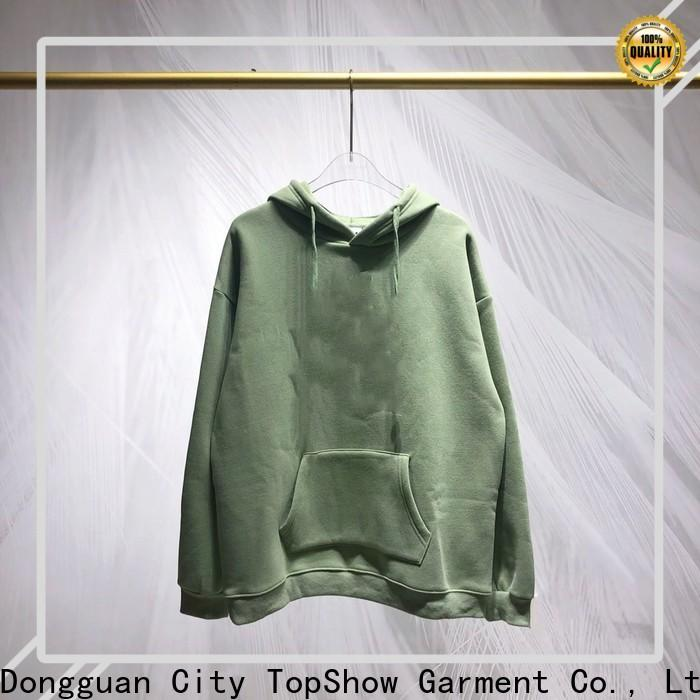 TopShow Wholesale stylish hoodies for men manufacturers factory price