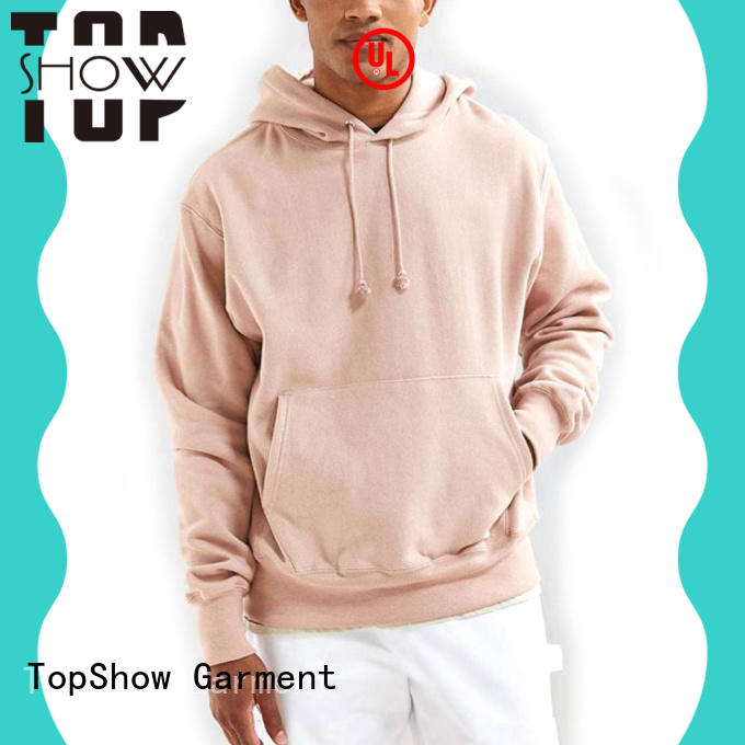 TopShow nice hoodies for men manufacturer for business trip