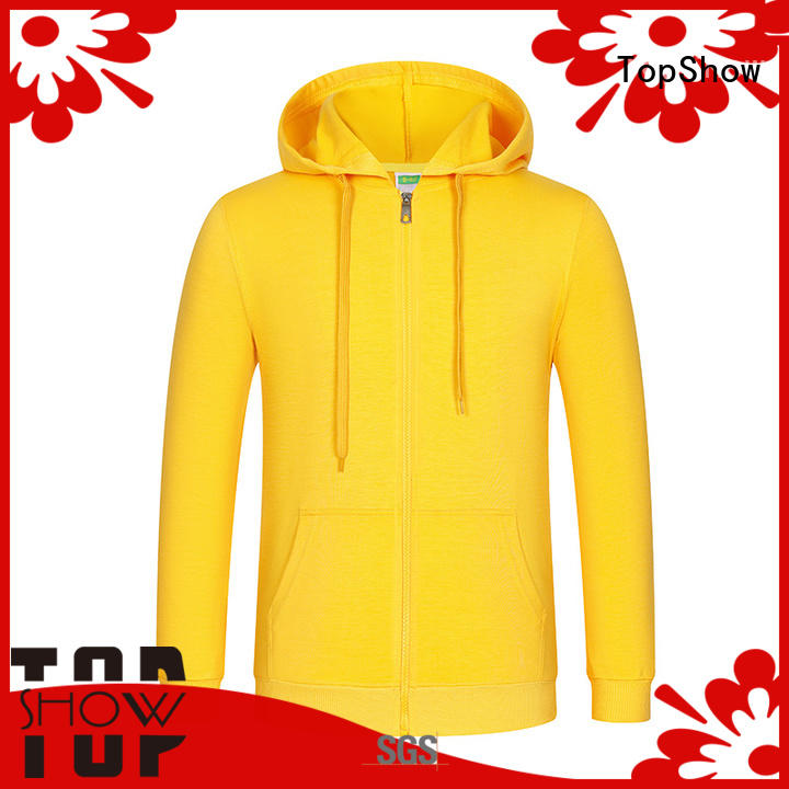 TopShow New custom clothing manufacturer with many colors