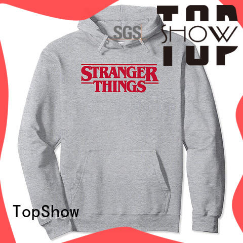 TopShow nice mens designer hoodies supply for business trip