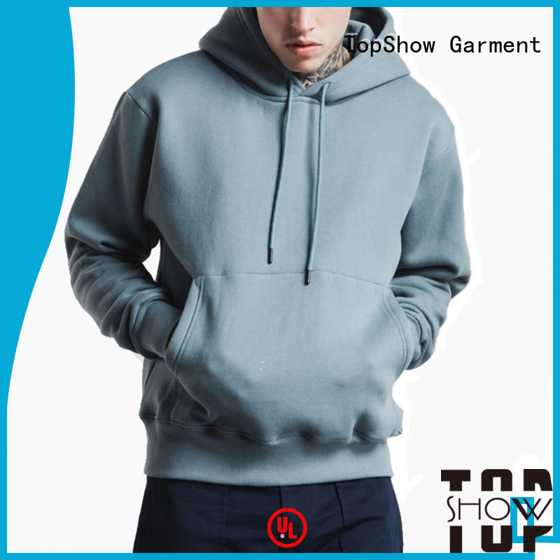 TopShow sweatshirt without hood supply daily wear