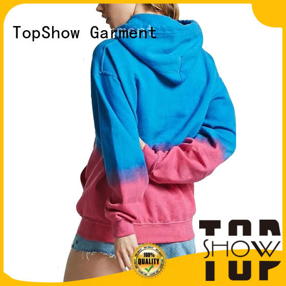 TopShow fashion basic hoodies for women Supply with many colors