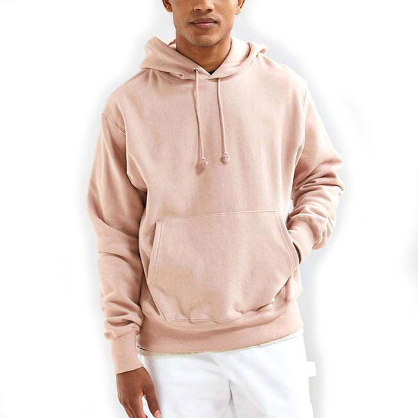 China Supplier Blank High Quality Men Hoodie Wholesale 400gsm Reverse Weave Hoodie