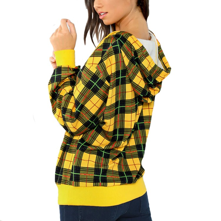 High-quality cool ladies hoodies for business trip-5