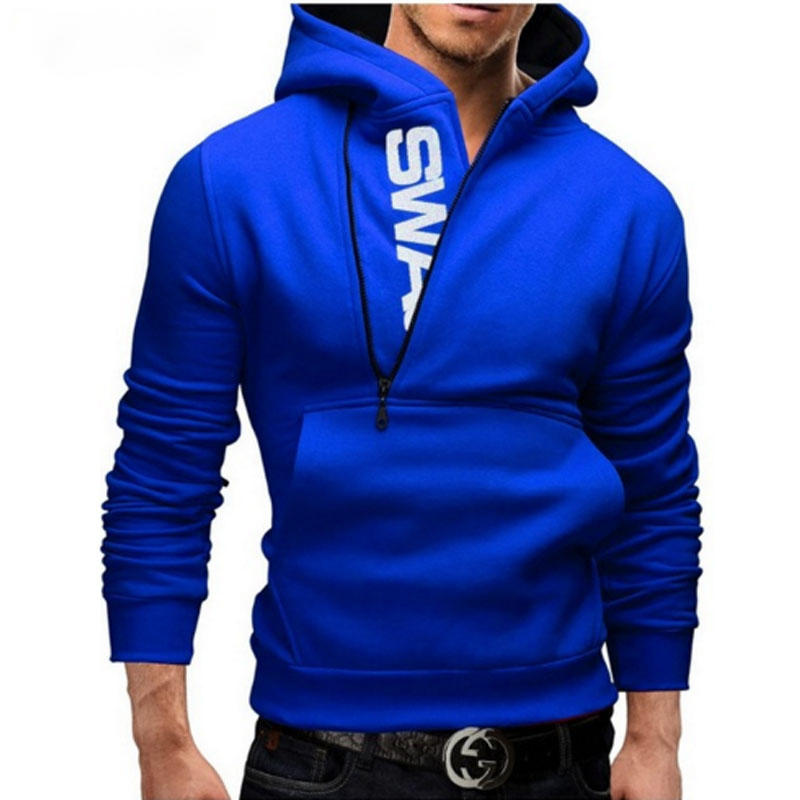 Wholesale Hoodies Custom Nylon Zipper Men'S Hoodies Sweatshirts