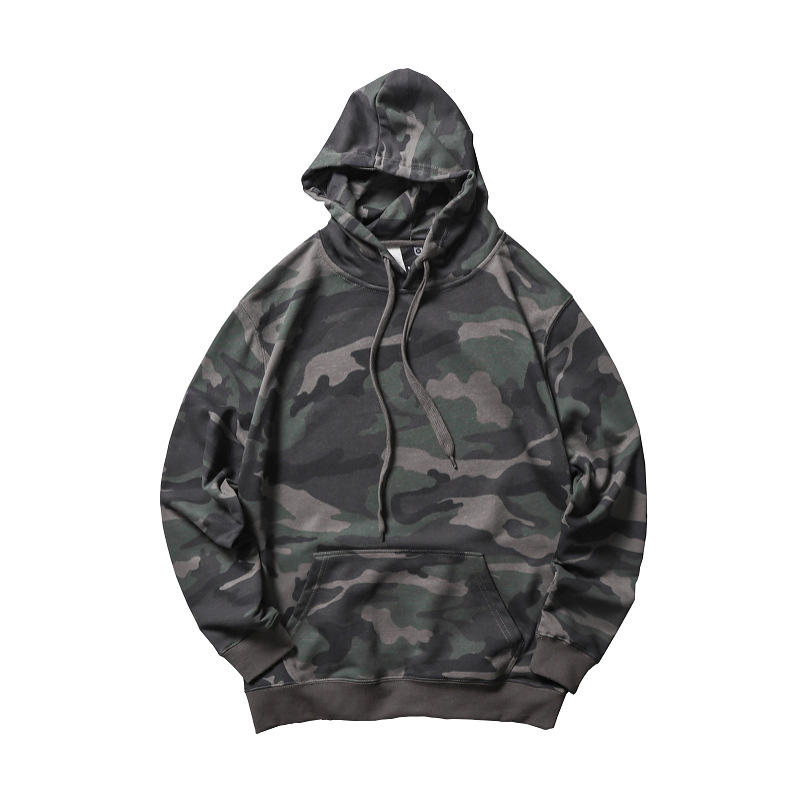 High quality garment OEM wholesale hoodies sweatshirt with sleeve pocket