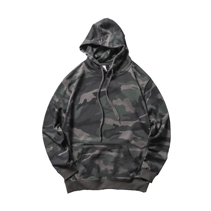 High quality garment OEM wholesale hoodies sweatshirt with sleeve pocket