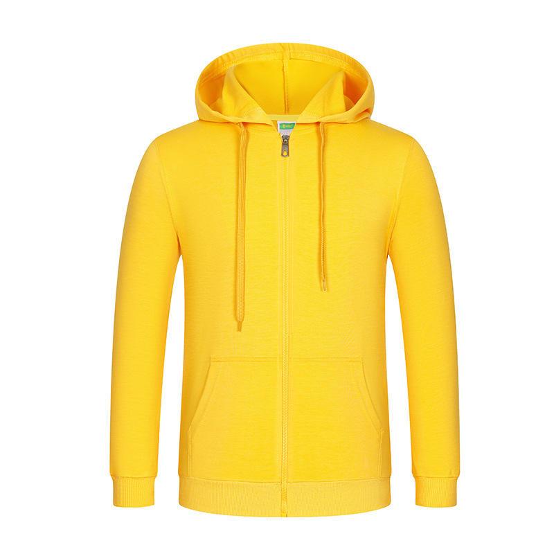 China Factory Wholesale Hoodies Custom Logo Men's Classic Lightweight Zip Up Hoodies