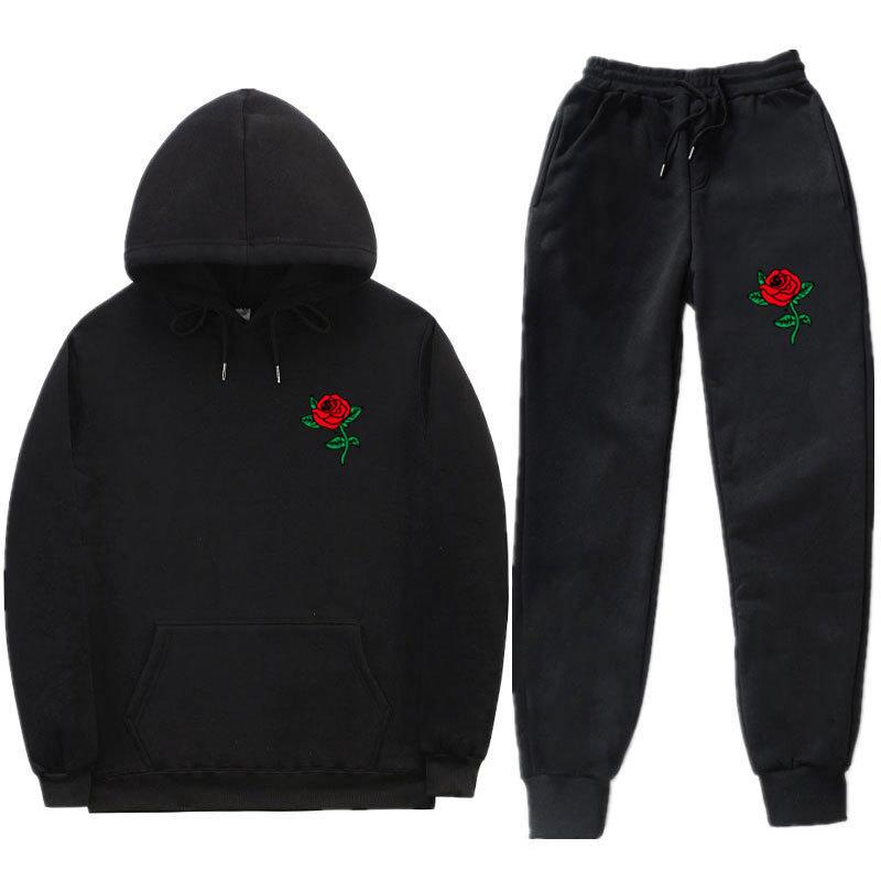 Men's Designer Hoodies Manufacturer Towel Embroidery Heavyweight Black Streetwear Hoodie