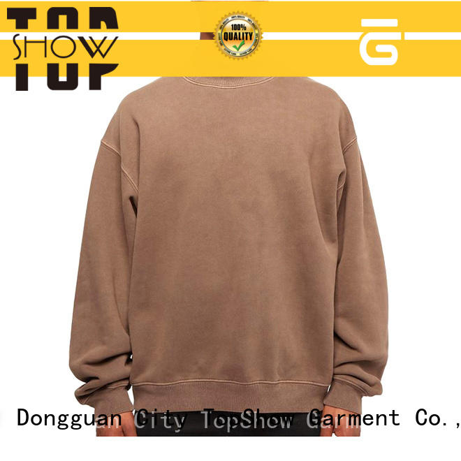 TopShow plain hooded sweatshirts factory for female