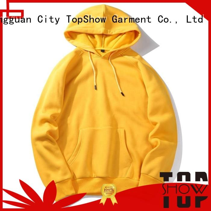 TopShow cool mens designer hoodies producer for business trip