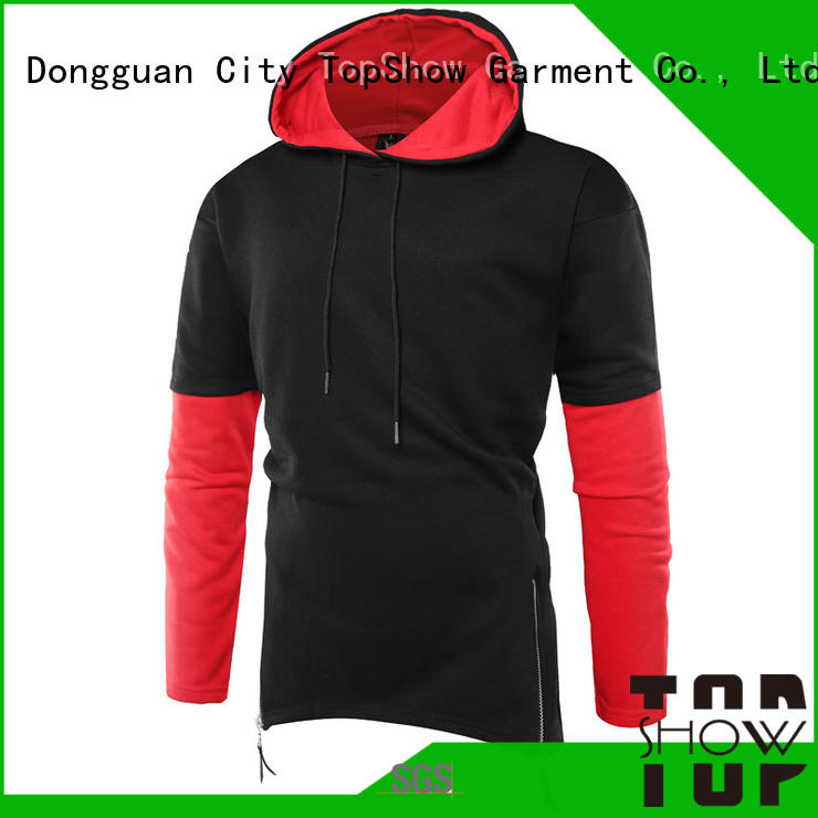 TopShow Wholesale plain hooded sweatshirts factory for cosmetics