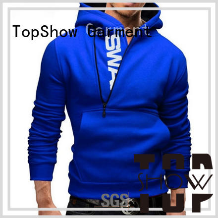 TopShow trendy mens hoodies supply for female
