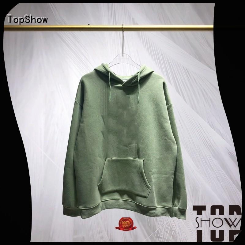 TopShow custom clothing factory factory price