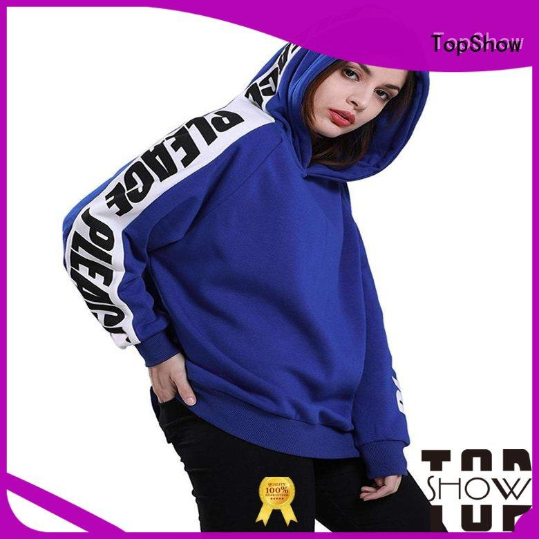 TopShow women's pullover hoodies manufacturers for shopping