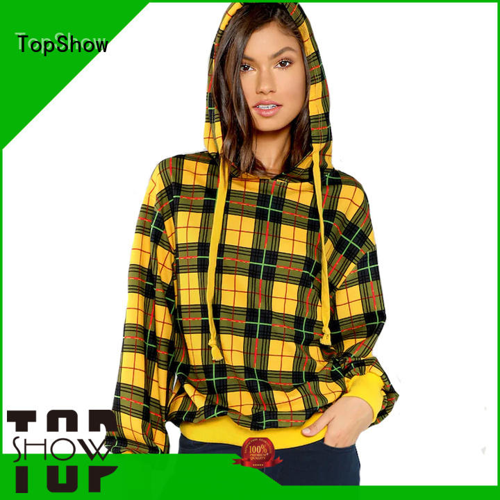 TopShow fashion stylish hoodies womens producer for ladies