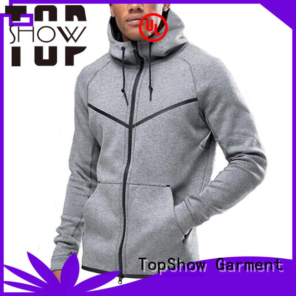 TopShow colorful mens jackets with hoodies street wear