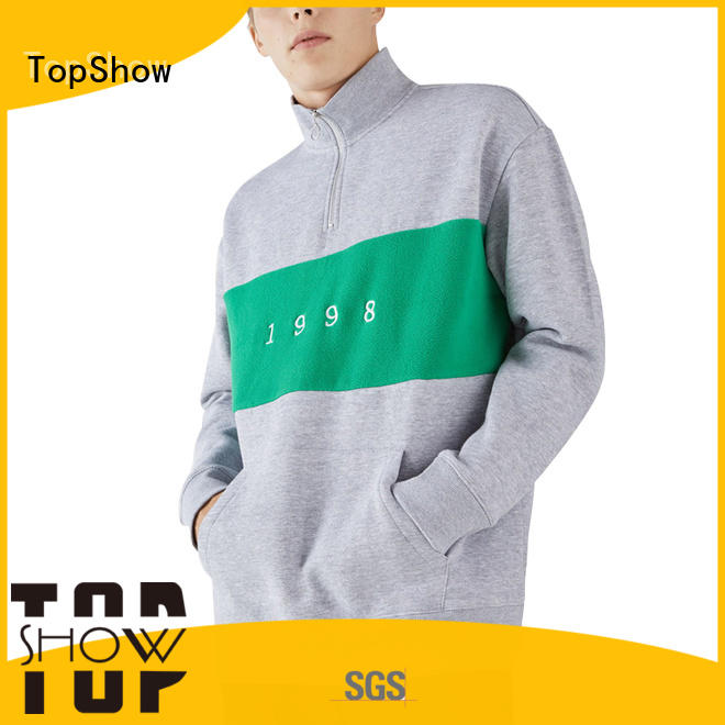TopShow nice plain hooded sweatshirts manufacturer for ladies