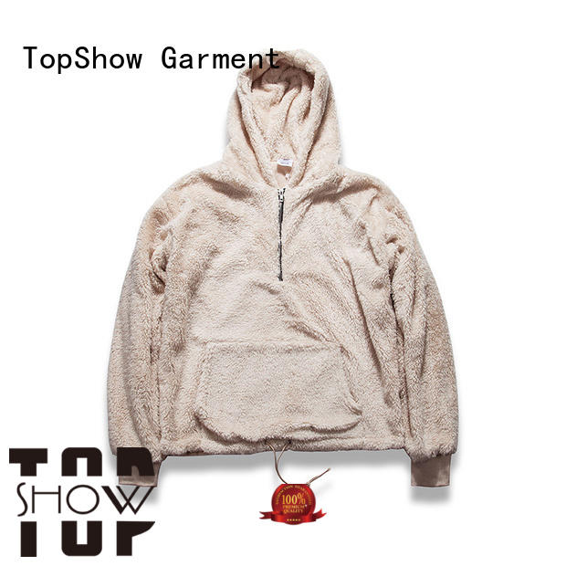 TopShow male hoodies factory from China
