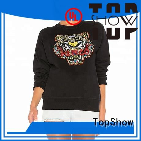 TopShow cool cool ladies hoodies for business from China