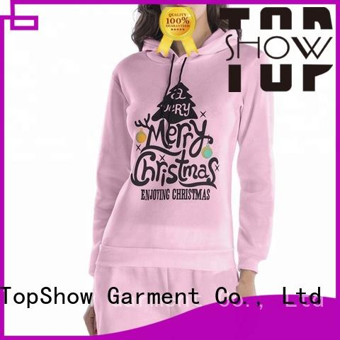 TopShow nice designer womens hoodies manufacturer for female