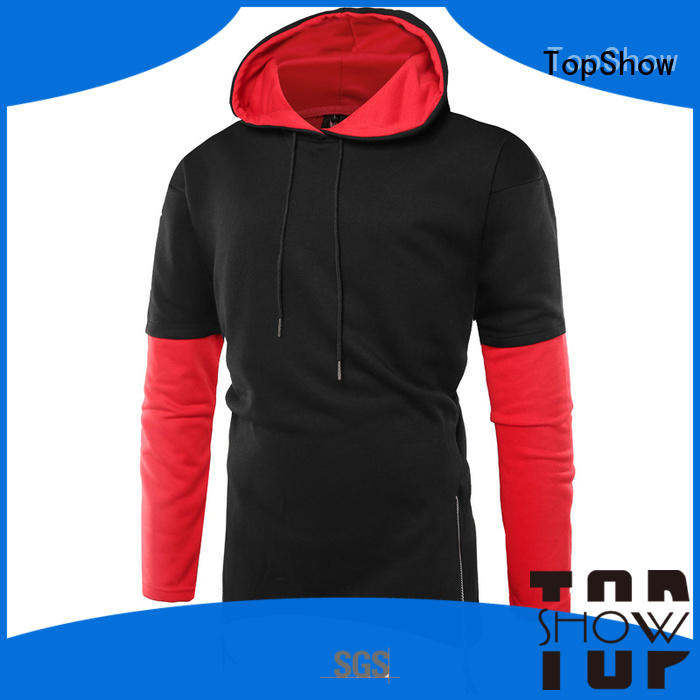 TopShow New plain hooded sweatshirts for business for ladies