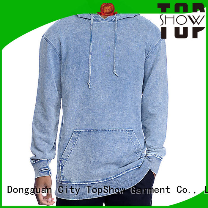 TopShow cool trendy mens hoodies manufacturers for party