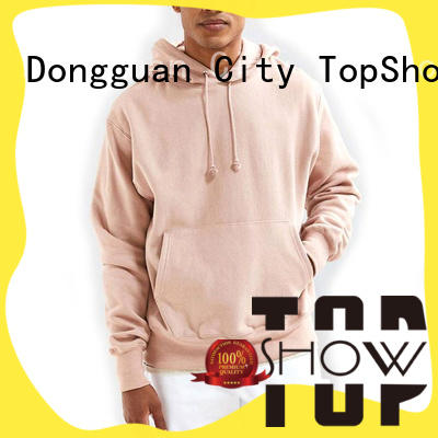 TopShow trendy hoodies for guys factory factory price