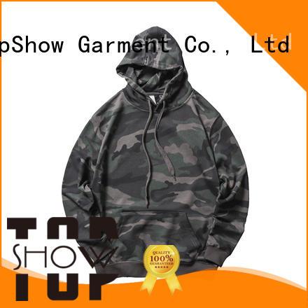 TopShow fashion mens designer hoodies factory for ladies