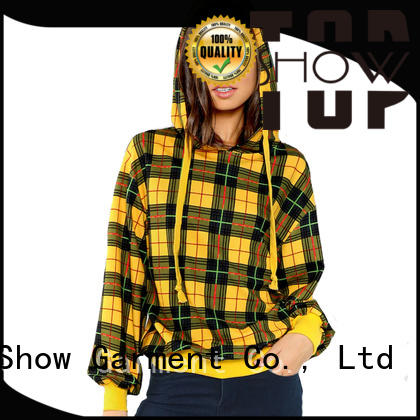 TopShow New popular womens hoodies Supply for cosmetics