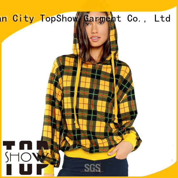 fashion cool female hoodies factory party wear