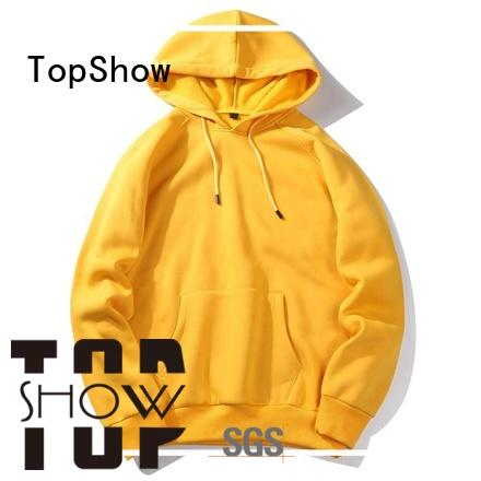 TopShow colorful winter hoodie producer for travel