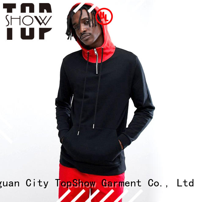 TopShow colorful popular mens hoodies factory for ladies