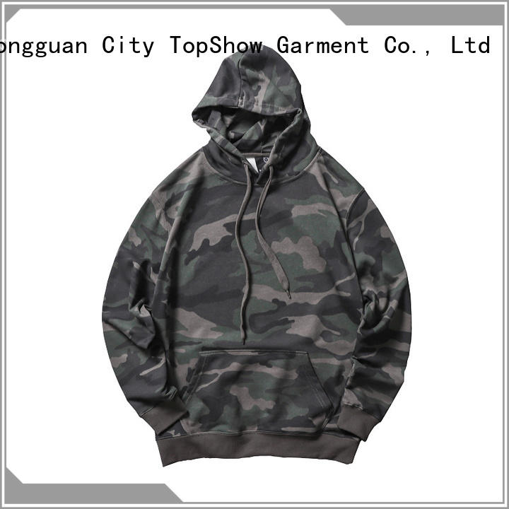 TopShow trendy mens hoodies factory for business trip